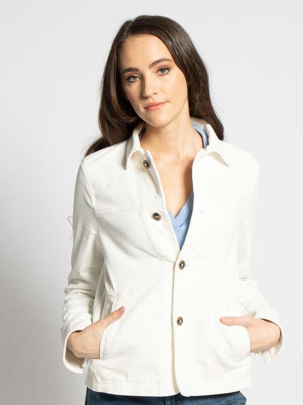 Corduroy jas