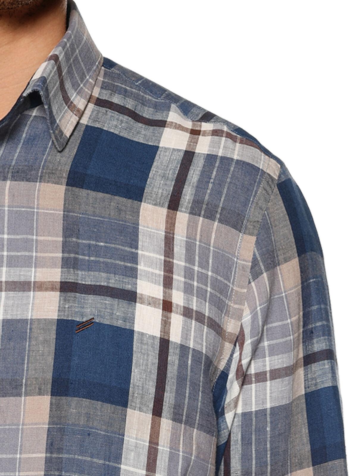 Linnen overhemd Custom fit