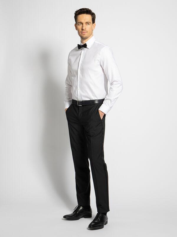 Overhemd Custom fit + vlinderstrik