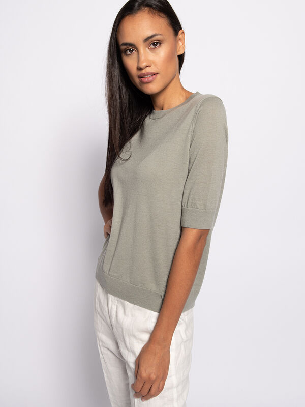Gebreid shirt