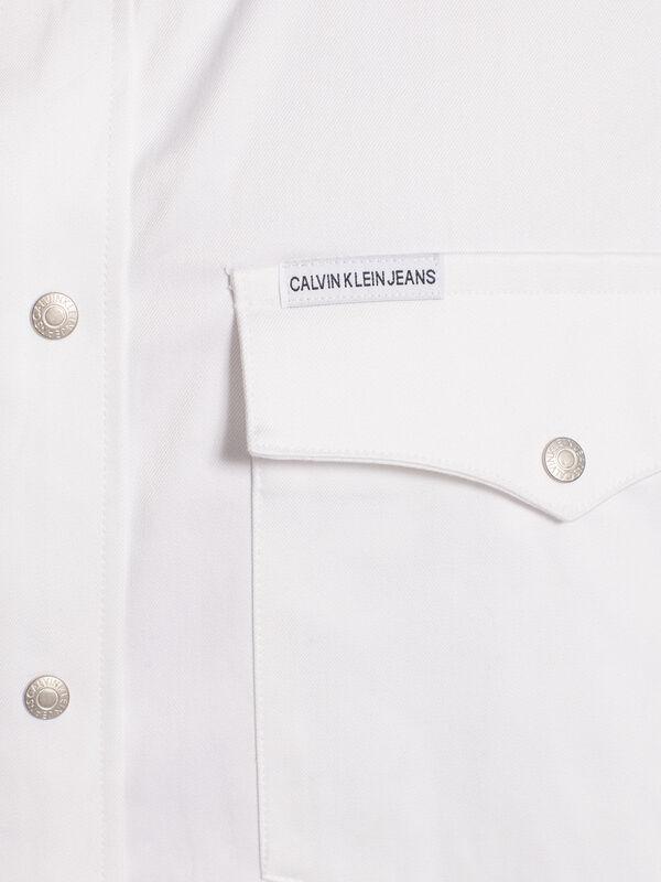 Denim overhemd