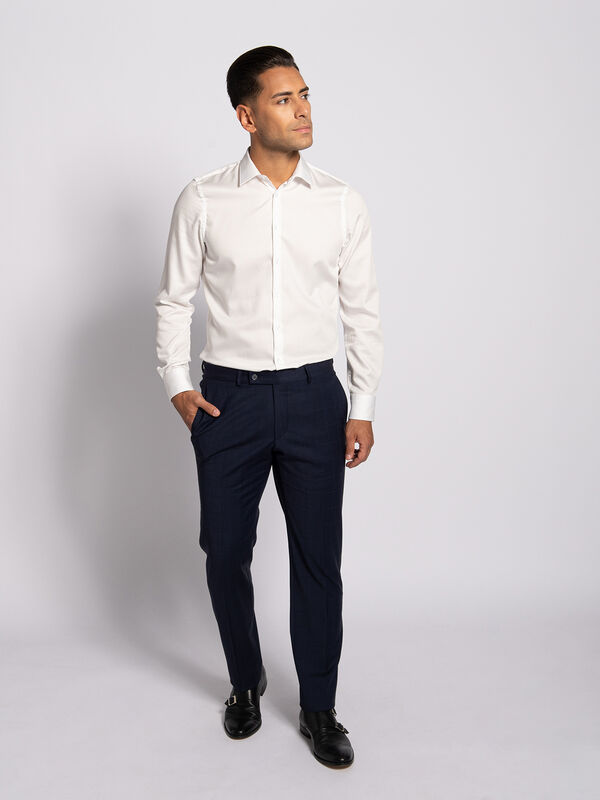 Modern-Fit Trousers