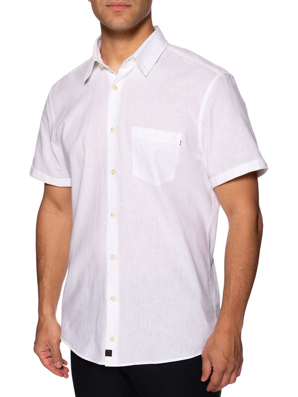 Overhemd met korte mouwen Custom fit