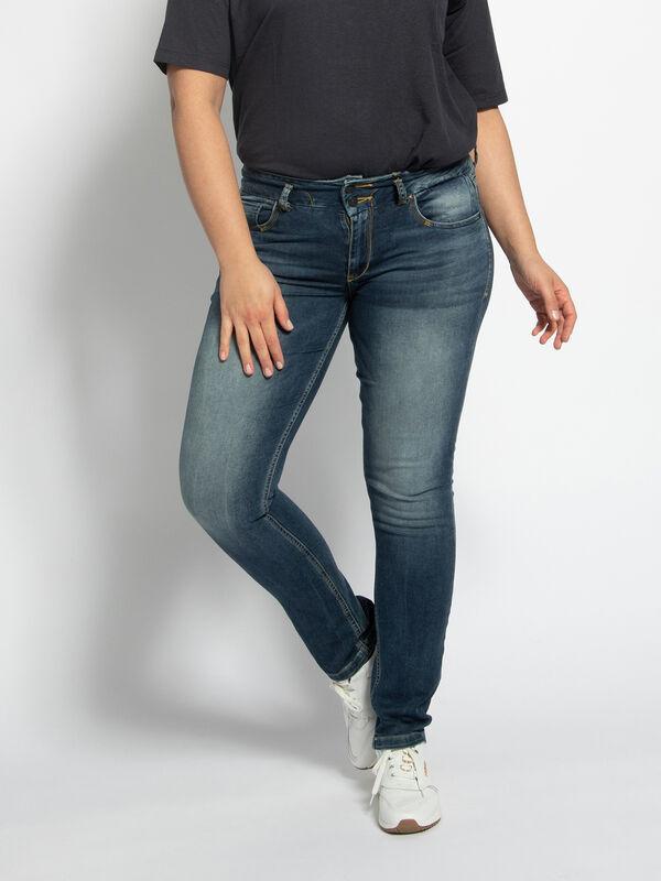 Spijkerbroek Zena (grote maat)