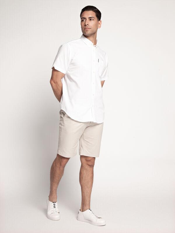 Overhemd met korte mouwen Regular fit