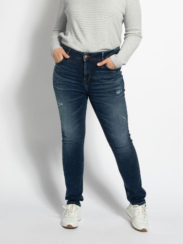 Spijkerbroek Maren (grote maat)