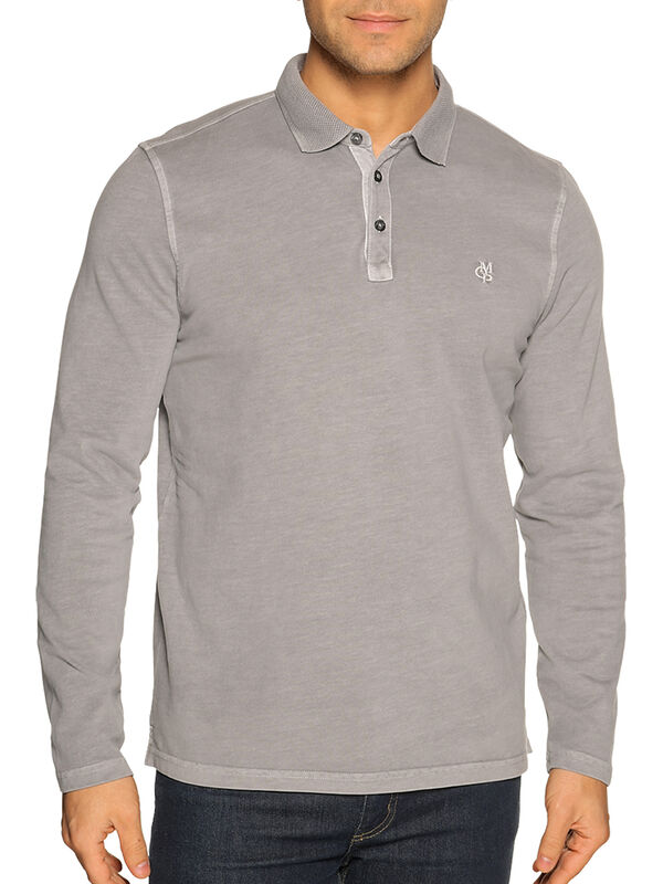 Polo met lange mouwen Regular fit