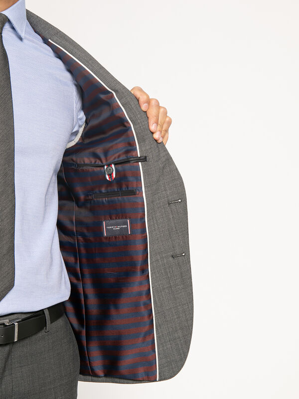 Slim-Fit Suit Jacket