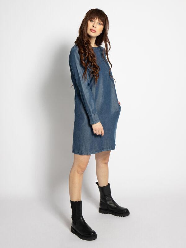 Denim jurk