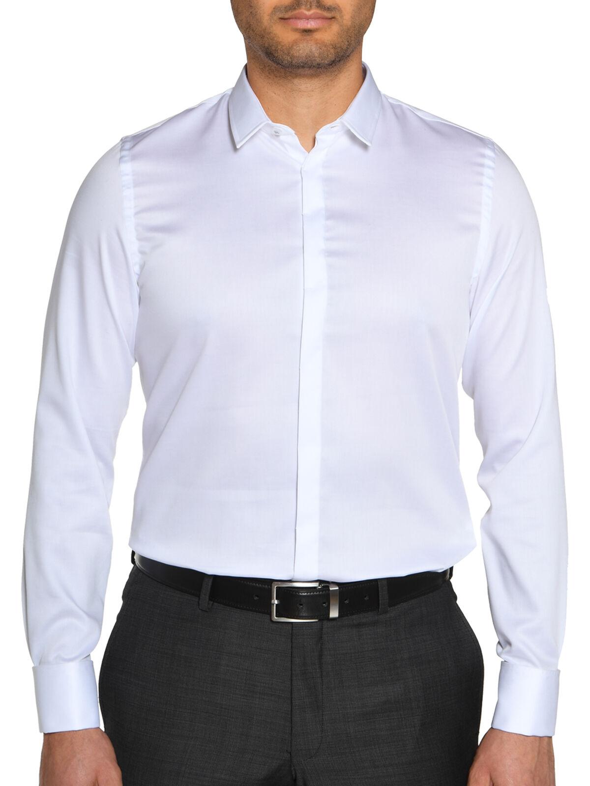Overhemd Slim fit met manchetten